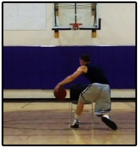 basketball training dribbling