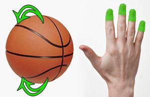 basketball hand