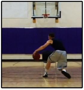 basketball training dribbling