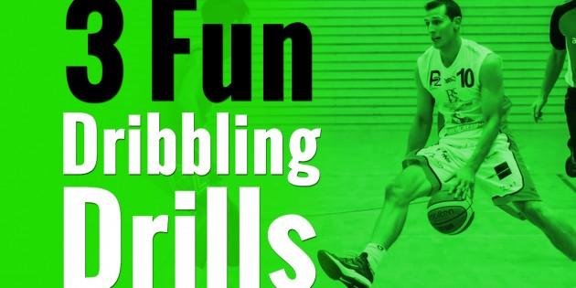 fun basketball dribbling drills